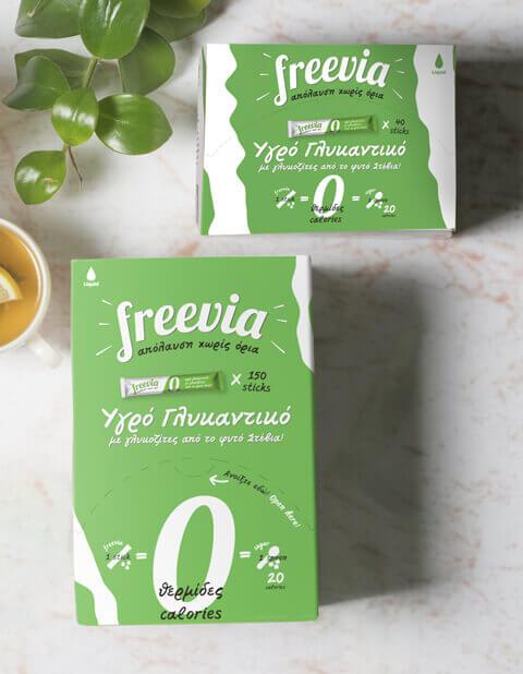 Freevia Stevia Sticks
